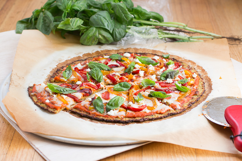 Basil Goat Cheese Pizza Recipes — Dishmaps