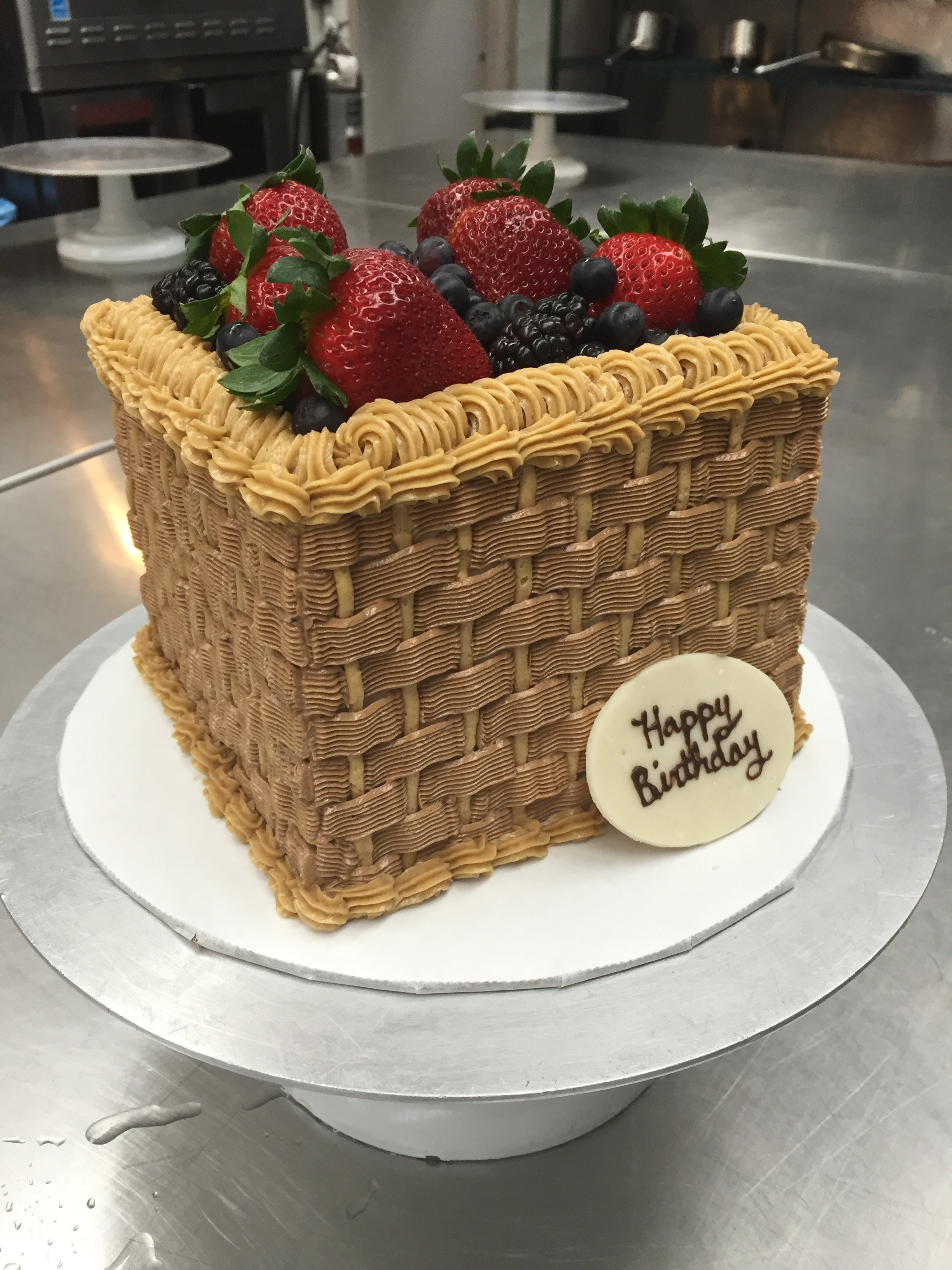 How To Basket Weave Buttercream : Cake archives
